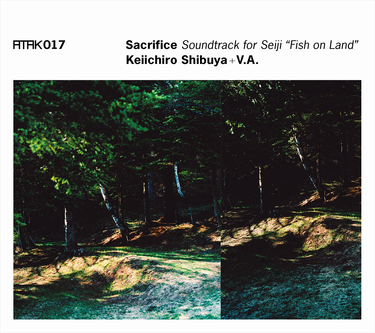 ATAK017 Sacrifice Soundtrack for Seiji Fish on Land